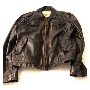 Men's Guess Leather look jacket